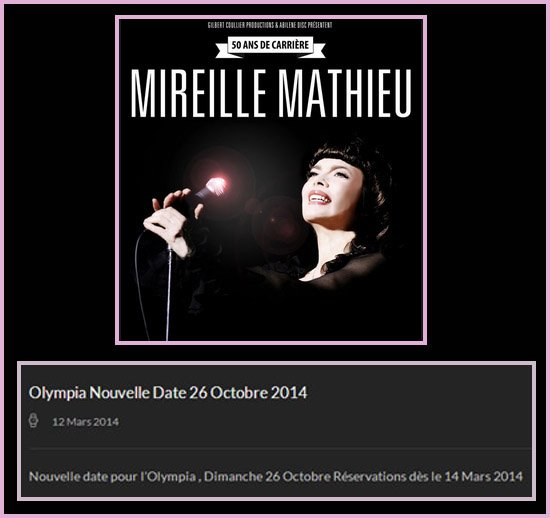 MM Olympia - Paris 2014