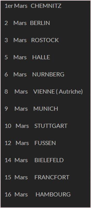 Mireille Mathieu - Mars 2015
