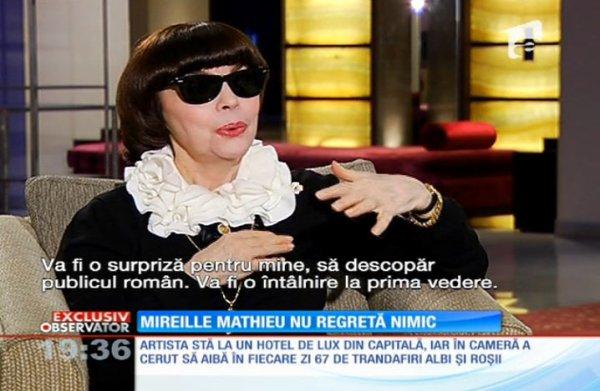 Mireille Mathieu - Bucarest 2014