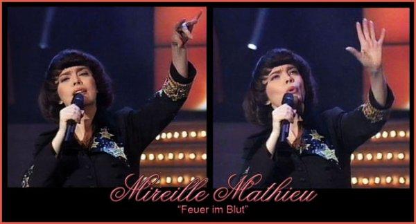 """Mireille Mathieu 1996 - """"Feuer im Blut"""""""
