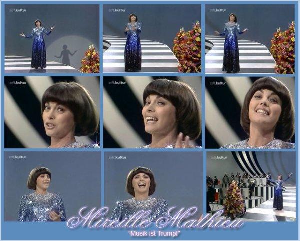 """Mireille Mathieu - """"Musik ist Trumpf"""""""