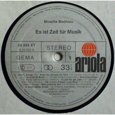 MIREILLE MATHIEU - Es Ist Zeit Für Musik