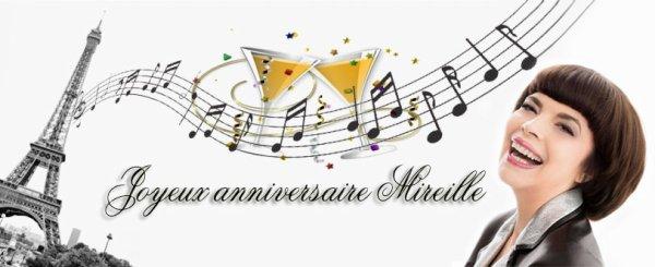 22 juillet - Anniversaire de Mireille!