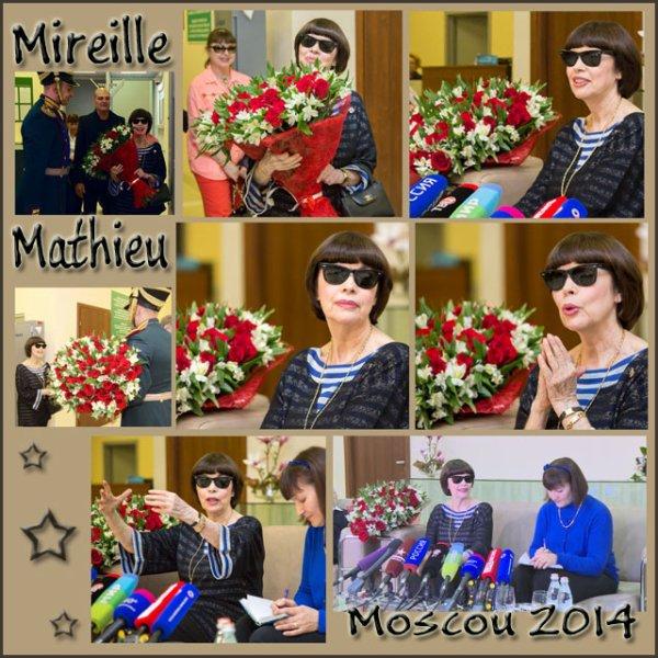MIREILLE MATHIEU - MOSCOU  SEPTEMBRE  2014