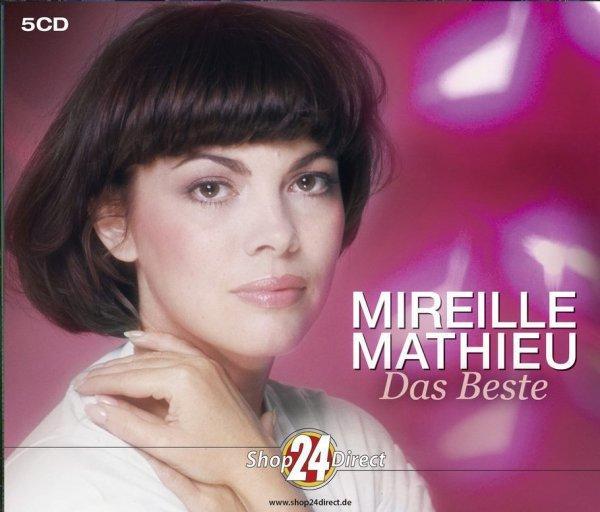 """MIREILLE MATHIEU - """"DAS BESTE"""" - 5 CD"""