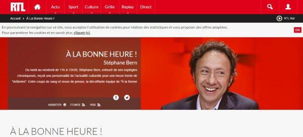 RTL MIREILLE MATHIEU - À LA BONNE HEURE - STÉPHANE BERN