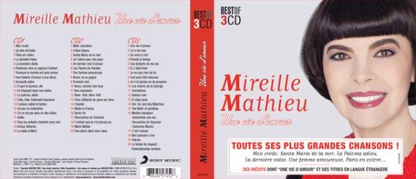 """Triple CD français MM """"Une vie d'amour"""""""