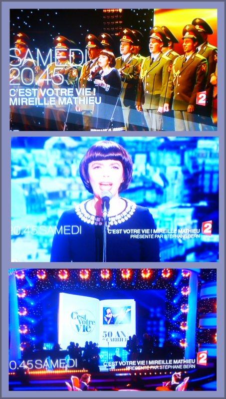 """""""C'est votre vie... Mireille Mathieu"""" - Samedi 11 octobre sur France 2"""