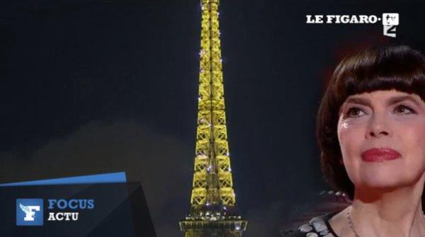 Les larmes de Mireille Mathieu sur le plateau de Stéphane Bern