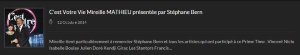 Actualités MM Site officiel - 12/10/2014