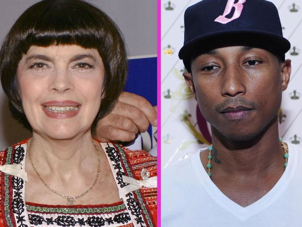 MIREILLE MATHIEU PREMIÈRE FAN DE PHARELL WILLIAMS