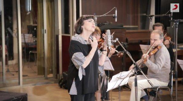 Mireille Mathieu - Une Vie d'Amour en studio