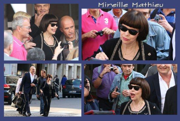 Mireille Mathieu - Octobre 2014