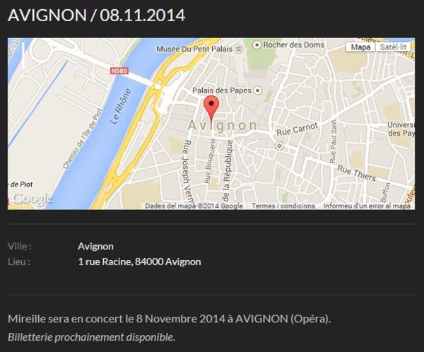 MM EN CONCERT - AVIGNON 8/9 NOVEMBRE 2014