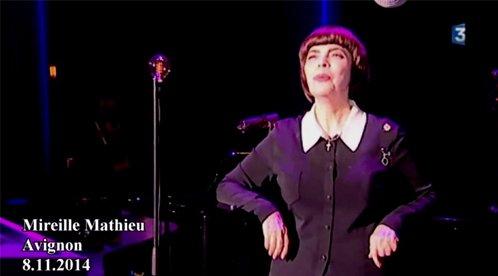 (2014) Mireille Mathieu Avignon