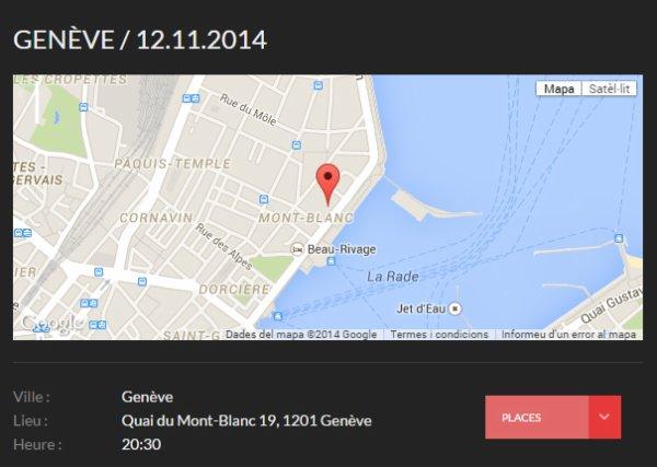 MM EN CONCERT - GENÈVE 12-11-2014