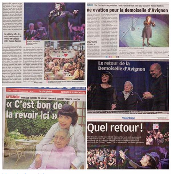 MM À AVIGNON - PHOTOS MM ET PRESSE