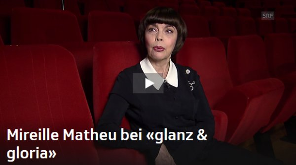 Mireille Mathieu im «glanz & gloria»– Interview