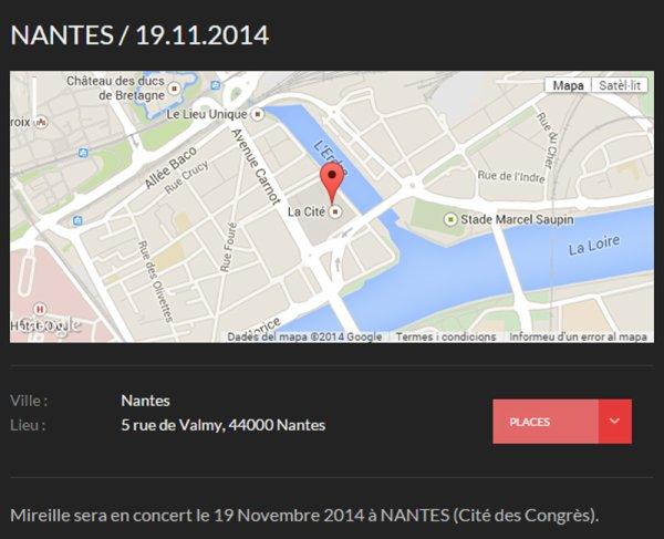 MM EN CONCERT - NANTES 19 NOVEMBRE 2014