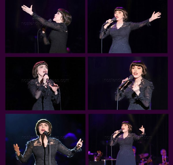 Mireille Mathieu, notre monument international!