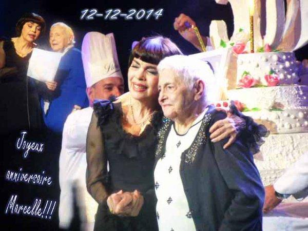 Joyeux anniversaire Marcelle!!! 12-12-2014