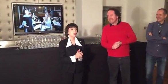 """Mireille Mathieu """"très émue par les attentats et la Marche"""""""