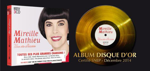 MM DISQUE D'OR!!!