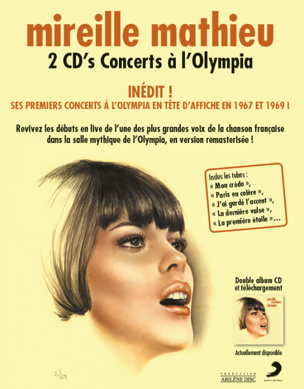 MM - CD's LIVE OLYMPIA 1967 & 1969
