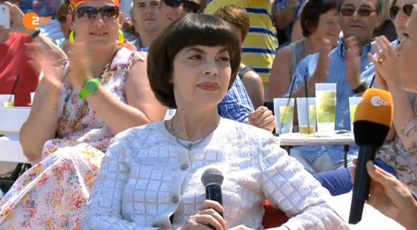 MM - Télévision Allemande Fernsehgarten 2015 le 14 Juin