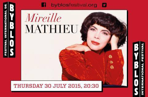 Mireille Mathieu, tsarine en Russie, amie de Feyrouz au Liban