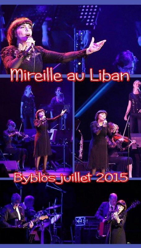 MIREILLE AU LIBAN - BYBLOS JUILLET 2015