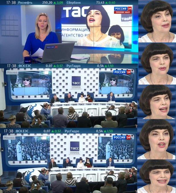 Мирей Матье: я хотела бы, чтобы санкции против России были сняты