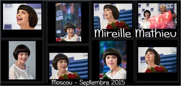 MIREILLE À MOSCOU - SEPTEMBRE 2015