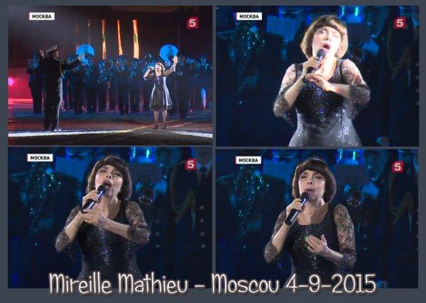 Mireille Mathieu - Moscou Septembre 2015