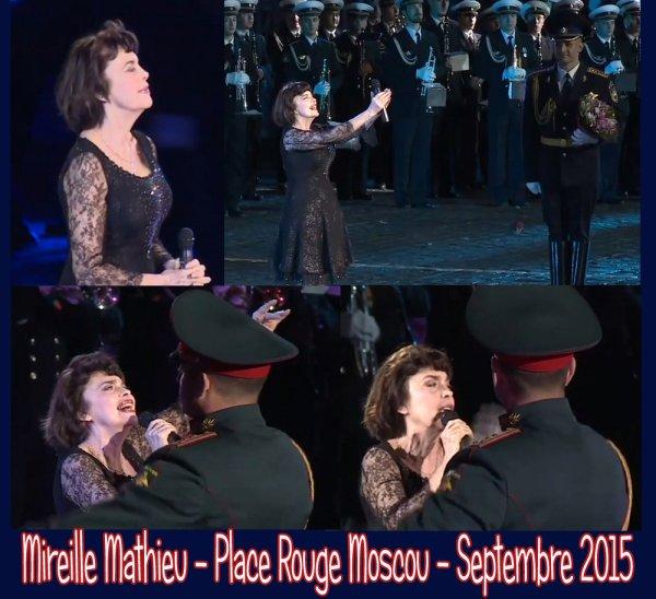 Mireille Mathieu - Moscou -  Septembre 2015