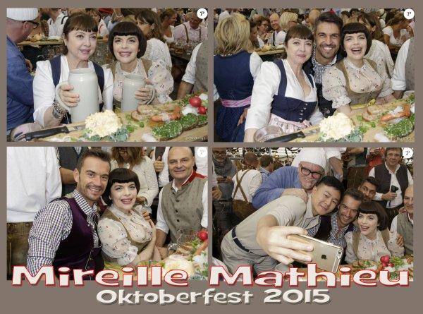 Mireille Mathieu à l'Oktoberfest