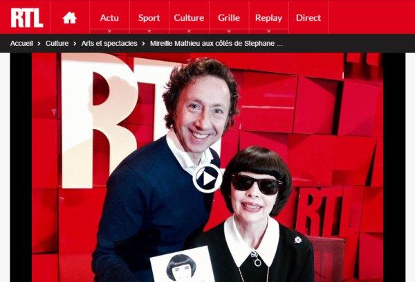 À la bonne heure RTL - Mireille Mathieu