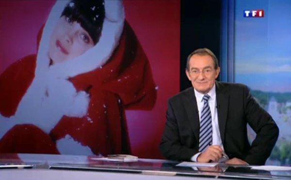 Mireille au JT de 13 H sur TF1 Jeudi 3 Décembre