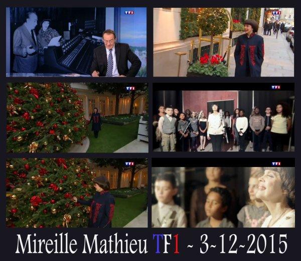 Mimi à TF1 - 13h - 3/12/2015