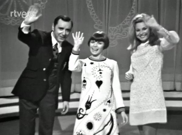 Mireille Mathieu - 30-11-1968 - Galas del sábado