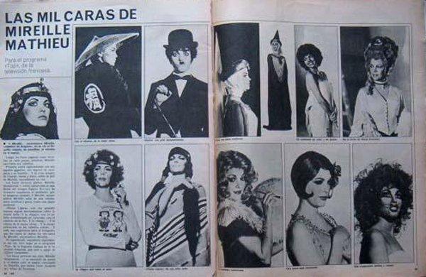 Mireille Mathieu - Abril 1974
