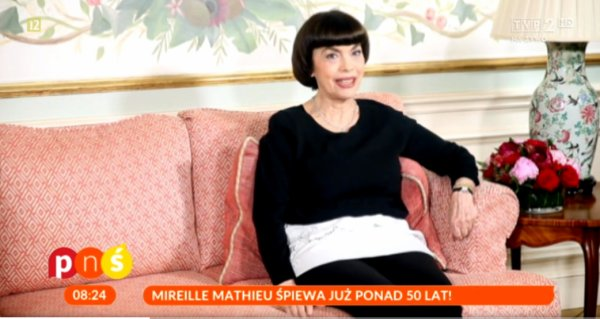 Special Mireille Mathieu - TV Polonaise - Dimanche 4/10/2016