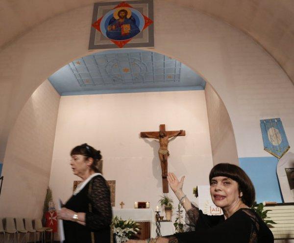 Mireille Mathieu, mécène de proximité