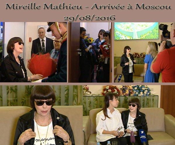 MM - Arrivée à Moscou 29/08/2016