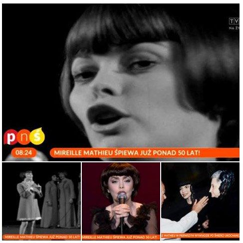Mimi à la télévision polonaise