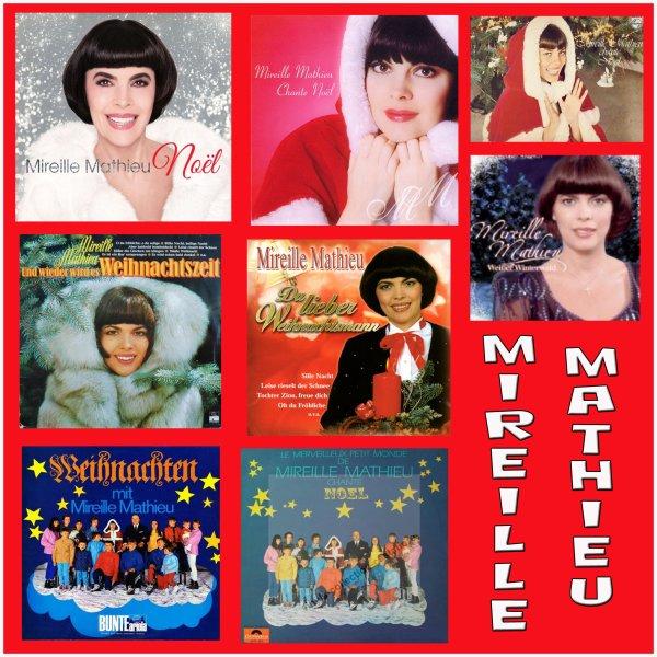 Mireille Mathieu - Disques de Noël