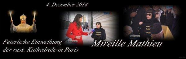5.Dezember 2016 ... das 5. Türchen...Mireille Mathieu, gestern in Paris......Ehrung....