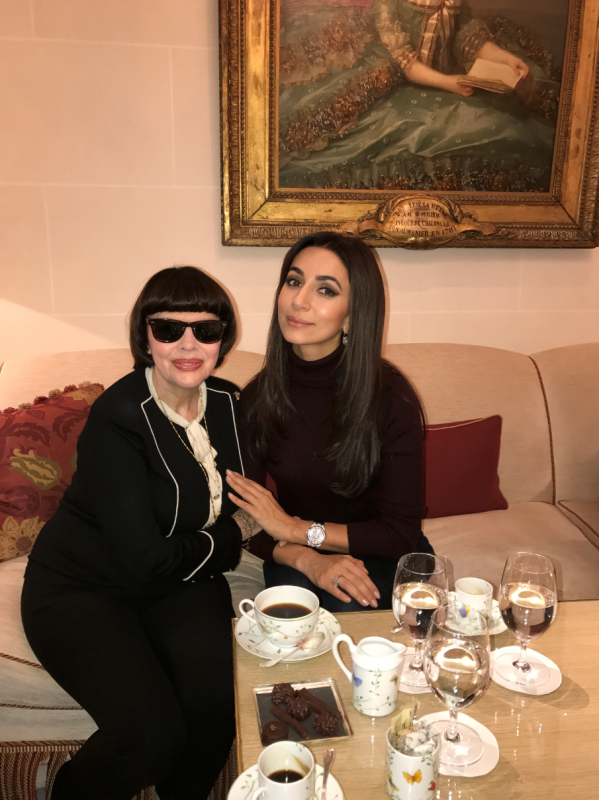 MM et ZARA - Mireille Mathieu Bei der Unesco / Paris 6.12.2016