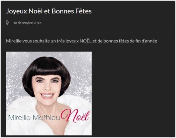 """MM Site Officiel - """"Joyeux Noël"""""""