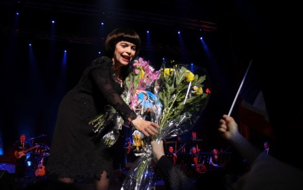 Mireille Mathieu - Saint Petersbourg 9/03/2017